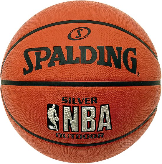 Spalding Basketbal NBA Silver - Outdoor - Maat 7