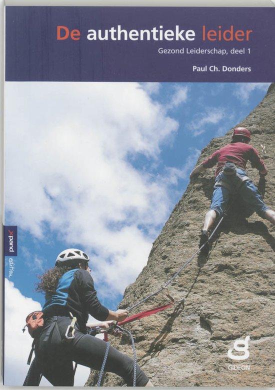 Cover van het boek 'Authentieke leider'