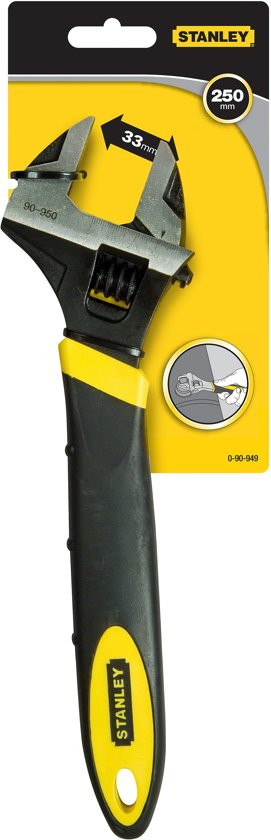 STANLEY Bimat verstelbare moersleutel 0-90-949 - 250mm
