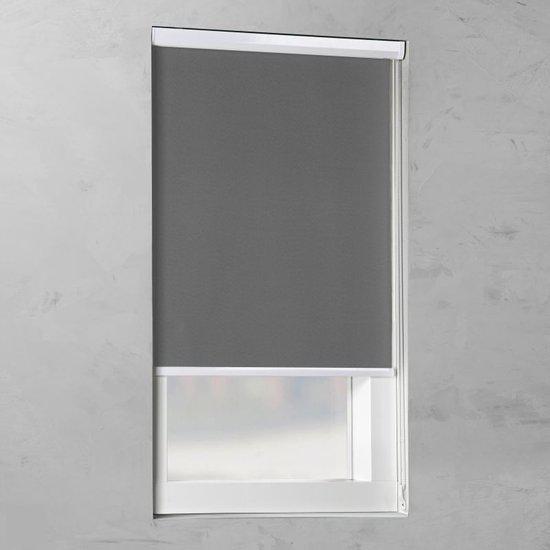 Pure Living - Cassette Rolgordijn Verduisterend - Grey - 80x175 cm