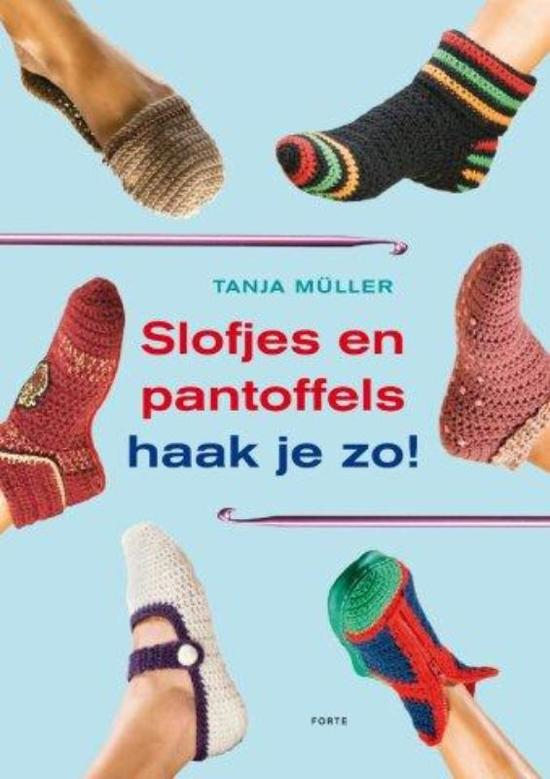 Bolcom Slofjes En Pantoffels Haak Je Zo Tanja Müller