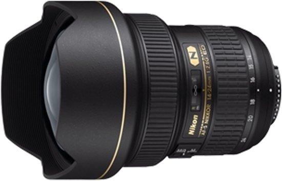 Nikon AF-S NIKKOR 14-24mm f/2.8G ED SLR Super-groothoeklens Zwart