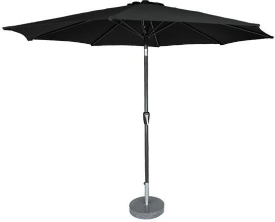 Kopu - Parasol Calma - 300 cm rond - Black
