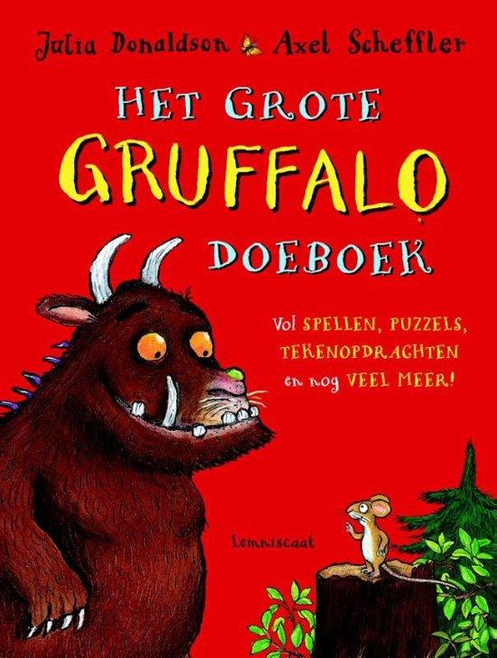 Het grote Gruffalo Doeboek