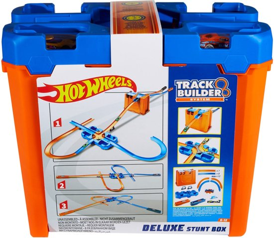Hot Wheels Track Builder Luxe Stuntbox - Racebaan