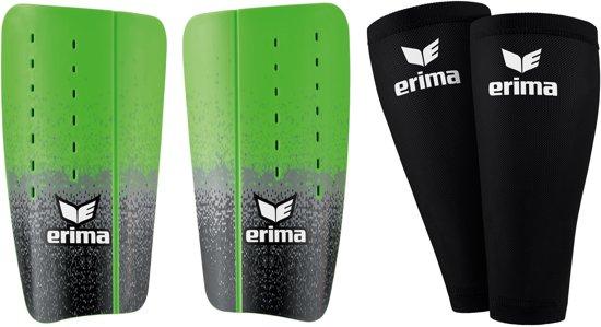 Erima Flex Guard Tube scheenbeschermers ScheenbeschermerVolwassenen - groen/grijs/zwart