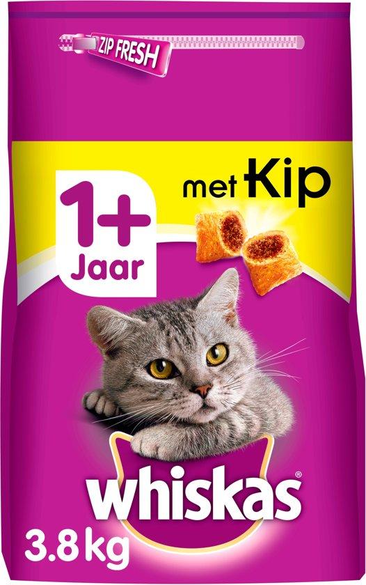 Whiskas Brokjes Adult Kip - Kattenvoer - 3.8 kg