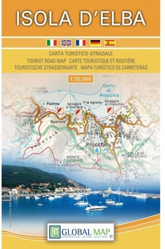 Procchio Elba Karte.Bol Com Topographische Karte Isola D Elba 1 30 000