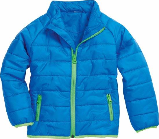 Playshoes Winterjas Kinderen - Blauw/Groen - Maat 128