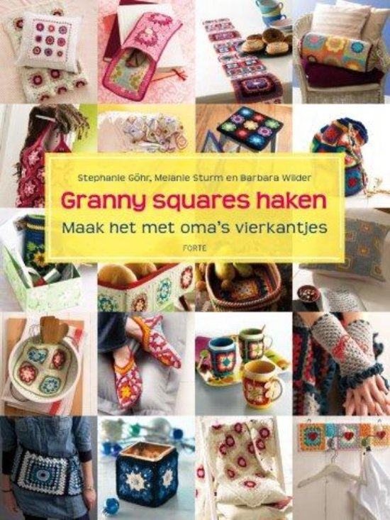 granny squares haken stephanie gohr. Black Bedroom Furniture Sets. Home Design Ideas