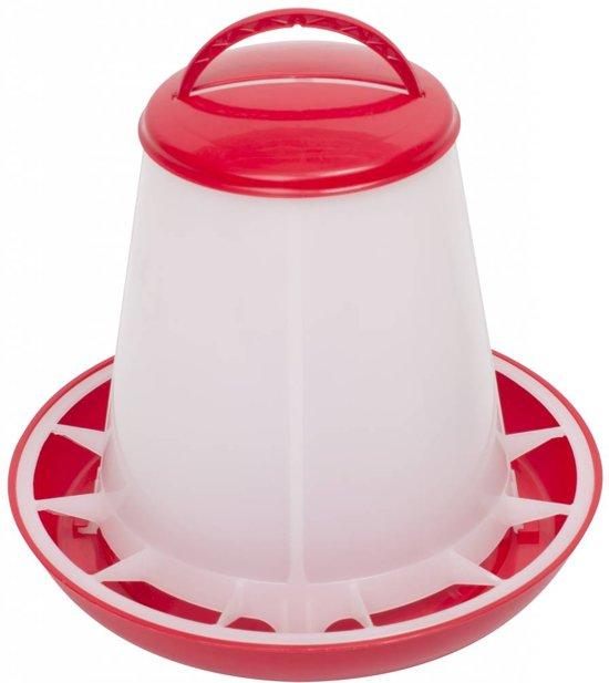 Olba Plastic Voersilo - 1 kg - Rood
