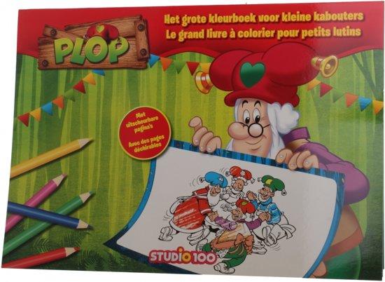 Kleurplaten Studio 100 Kabouter Plop.Bol Com Studio 100 Bopl00002110 Kleurplaat En Kleurboek Kleurboek