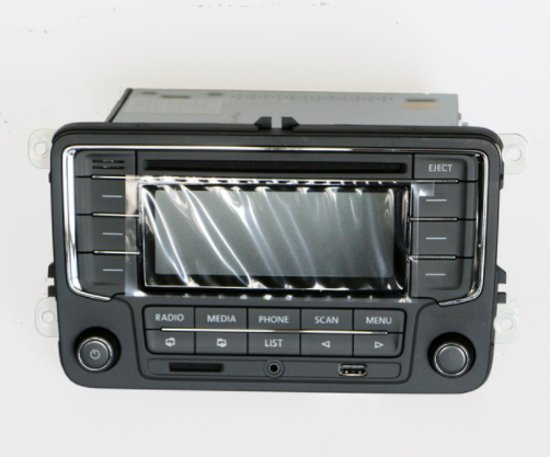 vw radio autoradio met usb bellen polo 6r tsi. Black Bedroom Furniture Sets. Home Design Ideas
