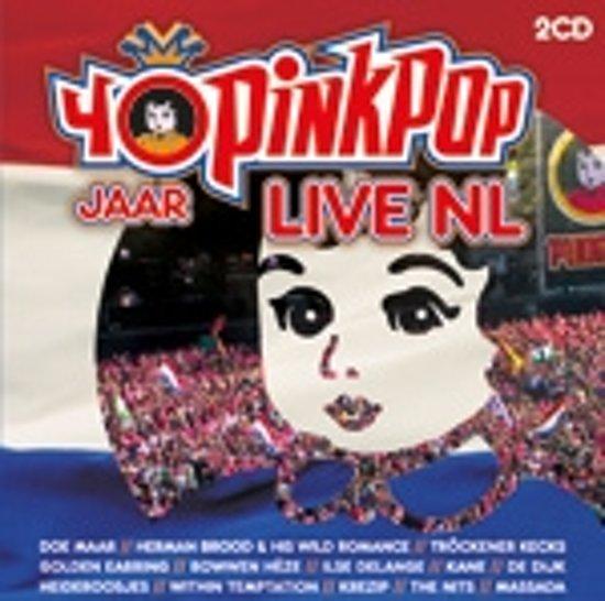 pinkpop 40 jaar cd bol.| 40 Jaar Pinkpop Live NL, Various | CD (album) | Muziek pinkpop 40 jaar cd