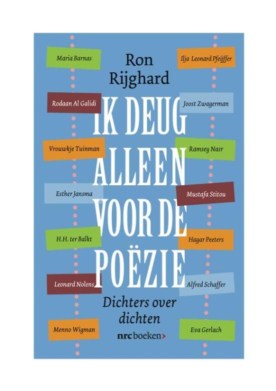 Cover van het boek 'Ik deug alleen voor de poëzie'