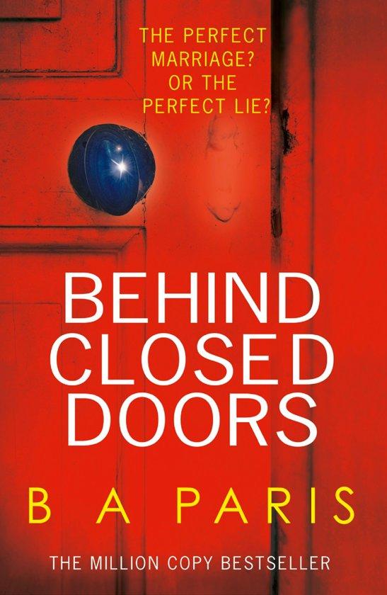 Boek cover Behind Closed Doors van B.A. Paris (Onbekend)