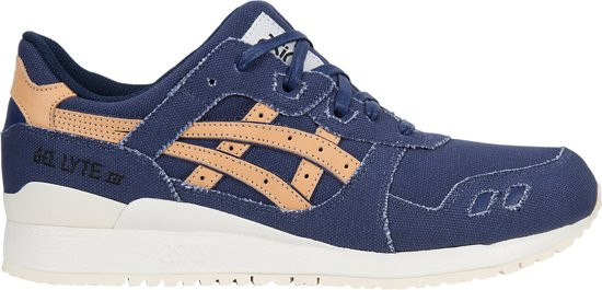 Asics - Gel Lyte Iii - Sneakers Hommes - Bleu, Taille: 39