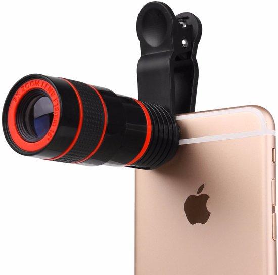 Clip-On Smartphone Zoomlens - iPhone - Mobiele Telefoon Camera Telescooplens - Tele Lens