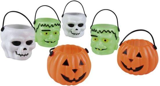 Set 6 Halloween emmertjes 3 ass. (6