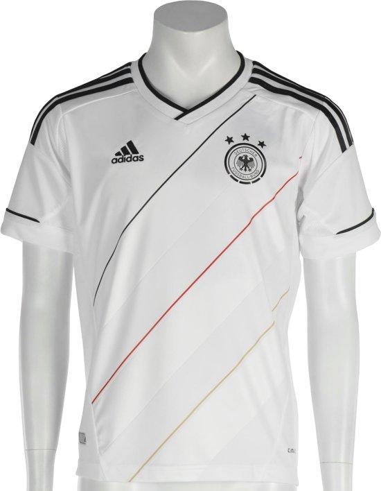 adidas Duitsland Thuisshirt - Voetbalshirt - Kinderen - Maat 152 - Wit/Zwart