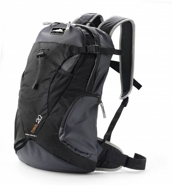 522f657f2f8 bol.com | Dutch Mountains - Rugzak Backpack - Zwart 20L