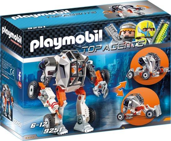 PLAYMOBIL Agent T.E.C.'s robowagen  - 9251