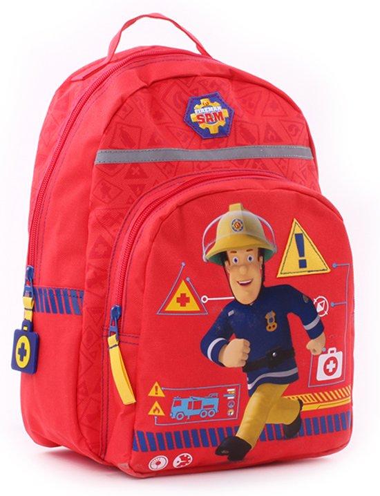 108175714a4 bol.com   Fireman Sam Fire Service Rugzak