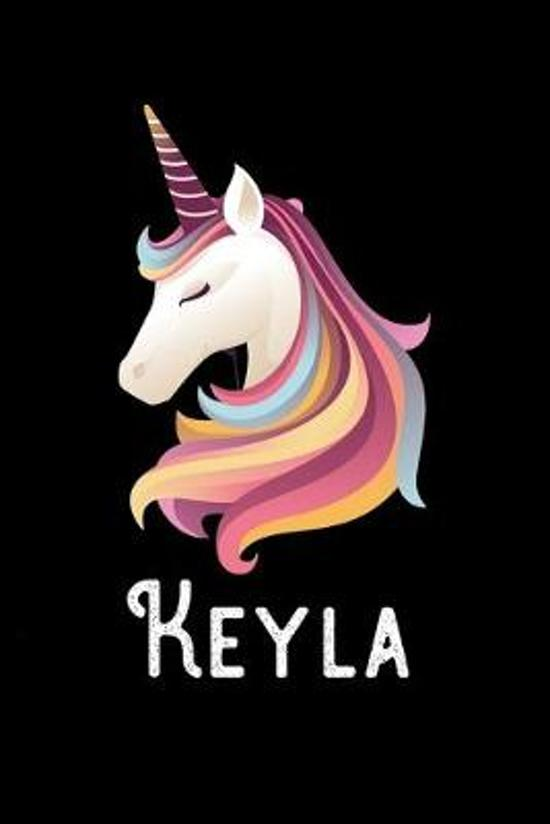 Keyla: Journal (Diary, Notebook) Personalized Custom Name Unicorn Birthday Gift for Girls and Women