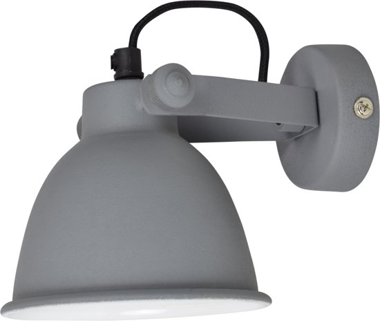 Urban Interiors - Industrial - Wandlamp - Ø12cm. - Vintage grey
