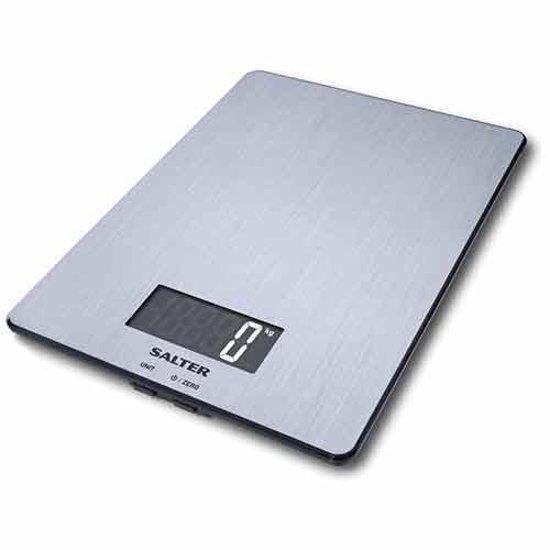Salter SA1103 SSDR - Digitale keukenweegschaalkeukenweegschaal - RVS