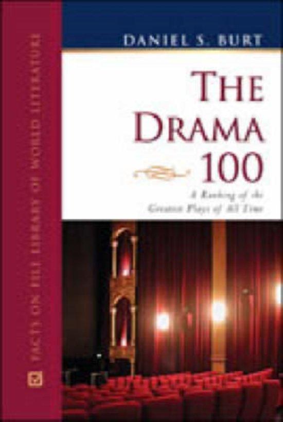 Bol The Drama 100 9780816060733 Daniel S Burt Boeken