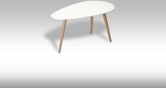 Solliden Fame - Salontafel - 75x43 cm - Wit