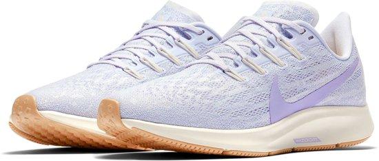 Nike Air Zoom Pegasus 36 Hardloopschoenen Dames Sportschoenen - Maat 38.5 -  Vrouwen - paars/wit