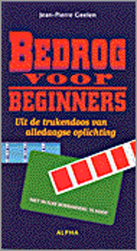 Bedrog voor beginners