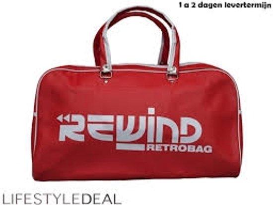 Rewind Retro Rewind Retro Rood Bag qSnYRapwz