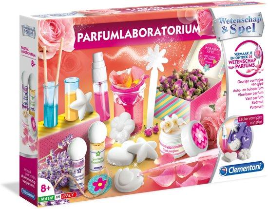 Afbeelding van Clementoni - Wetenschap & Spel - Parfumlaboratorium - Experimenteerset speelgoed