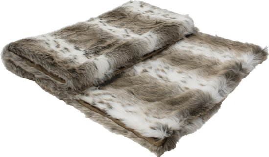 71323ca4509 Mars   More - Woonaccessoires - Plaid   Grand foulards - Plaid - Kleed lynx  130x170cm