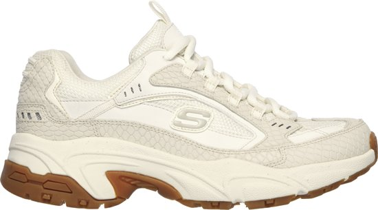 Skechers Stamina Classy Trail Dames Sneakers - Wit