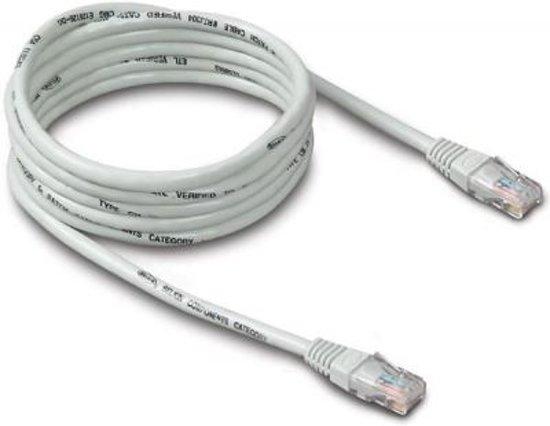 bol.com | Internetkabel UTP CAT.5e - Netwerkkabel - Ethernet Kabel | Grijs | 5 meter