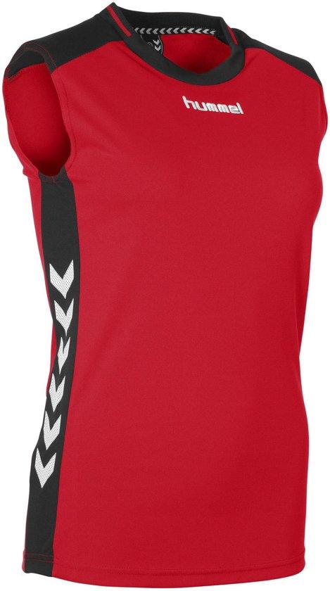 Sleeveless Rood Vrouwen L zwart Hummel Lyon Sportshirt PerformanceMaat dBoCxeWr