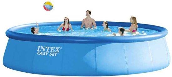 Intex Easy Set Opblaaszwembad Met Accessoires 549 X 122 Cm Blauw