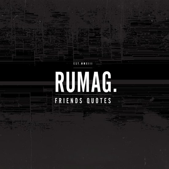 Boek cover Friends quotes van Rumag (Paperback)