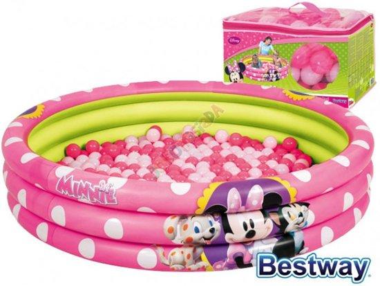 Disney Minnie Mouse zwembad met ballen