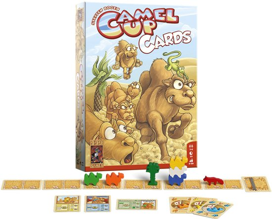 Thumbnail van een extra afbeelding van het spel Camel Up Kaartspel