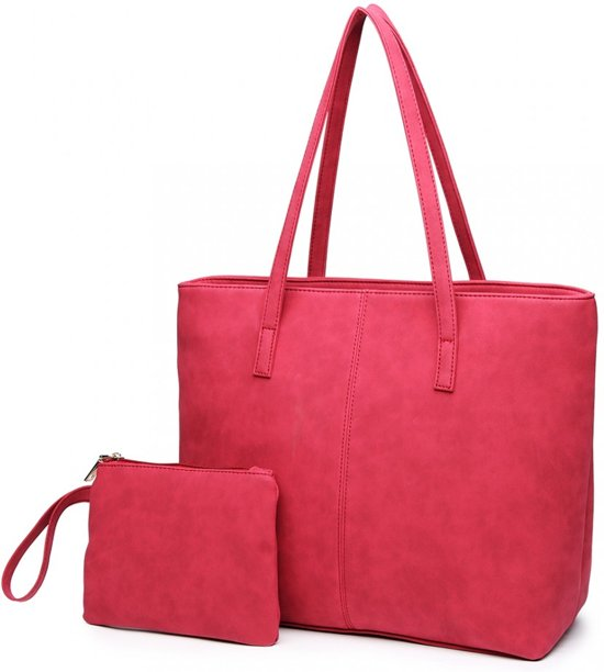 MISS LULU FASHIONABLE SHOULDER TOTE BAG (E1769 CT)