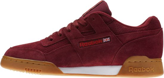 8771d42d4c7 Reebok Workout Plus MU SPG Sneakers Heren - Collegiate Burgundy Carotene  White