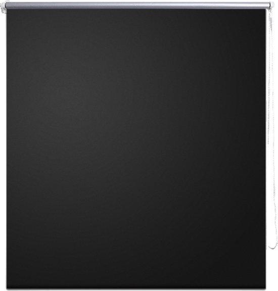 vidaXL - Rolgordijn (wonen) Rolgordijn verduisterend 40 x 100 cm - zwart