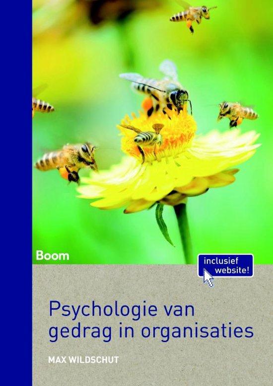 Psychologie van gedrag in organisaties