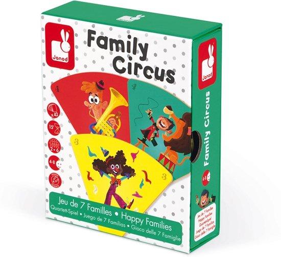 Afbeelding van het spel Janod Spel - geheugenspel - familie circus