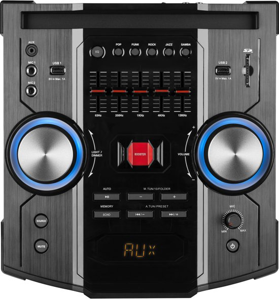 MEDION® LIFEBEAT® X67015 Bluetooth Party Speaker systeem